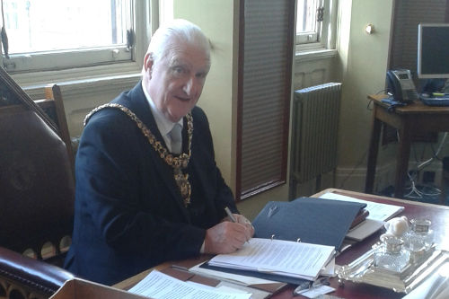 Lord Mayor of Manchester Councillor Paul Murphy