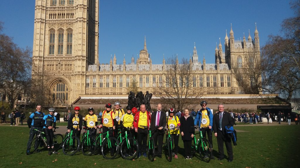 Bike for Peace Parliament