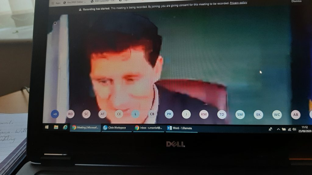 Irish Climate Action Minister Eamon Ryan speaking at the NFLA webinar