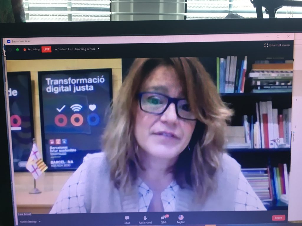 Deputy Mayor of Barcelona Laia Bonet Rull