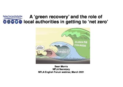 Local authorities and a green recovery