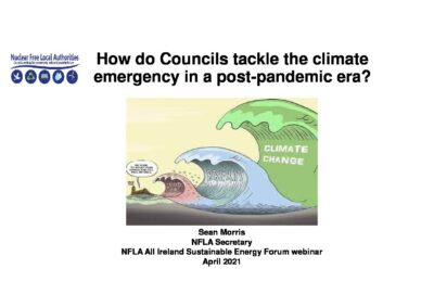 How do Councils across Ireland and Northern Ireland tackle the climate emergency in a post pandemic era?