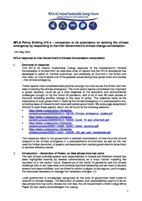 NFLA Policy Briefing No.215a