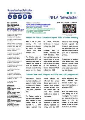 NFLA Newsletter June 2021