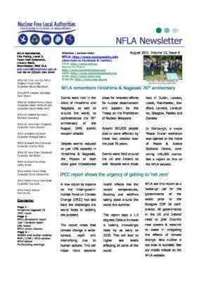 NFLA Newsletter July 2021