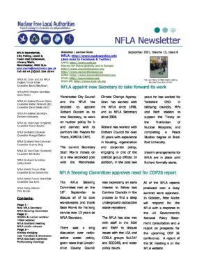 NFLA Newsletter September 2021